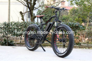 "26"" Full Suspension Electric Mountain Bike/Bicycle pictures & photos"