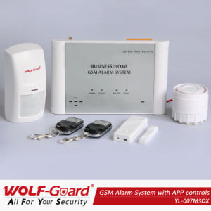 GSM Burglar Alarm System with APP Controls (YL-007M3DX) pictures & photos