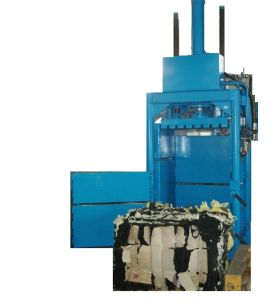 Textile Baler Compacts Textiles and Second-Hand Clothes Into Bales Without Any Damage pictures & photos