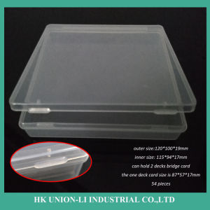 115*94*17mm PP Packaging Box for 2 Decks Bridge Card pictures & photos