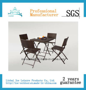Garden Furniture Outdoor Furniture Foldable Rattan Table Rattan Chair (FD-023I)