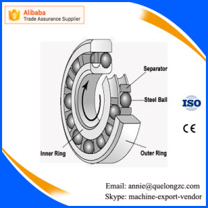 Single Row 7210c Angular Contact Ball Bearing with High Precision pictures & photos