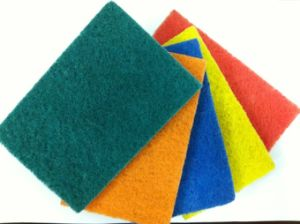 Household Scouring Pads with Sand (YYSP-001) pictures & photos