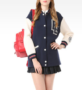 Lady Fashion Clothes Casual Baseball Jackets Women Clothes pictures & photos