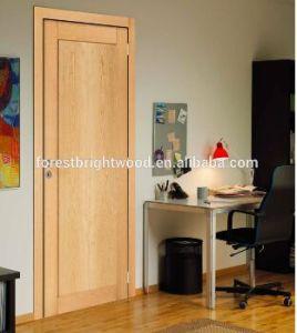 Modern Shaker Wood Veneer Door Skin/Nature Veneer Door pictures & photos