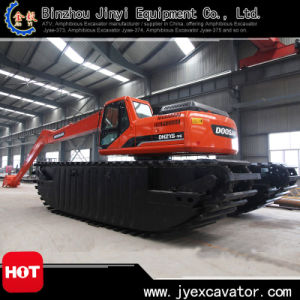 Middle Size Amphibious Excavator Floating Excavator for Sale