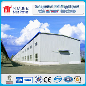 U C H Z Section Steel Frame Steel Structure Warehouse pictures & photos