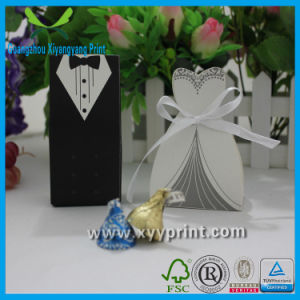 Custom Fancy Paper Wedding Gift Box Wholesale pictures & photos