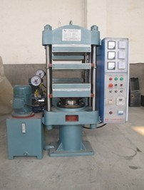 Column Structure Rubber Vulcanizing Press Machine pictures & photos