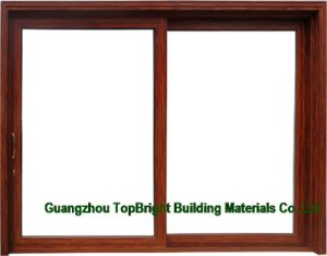 Horizontal Aluminum Profile Office Sliding Glass Windows pictures & photos