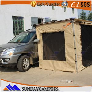 China Outdoor Canvas Folding Car Side Canopy Awning ...