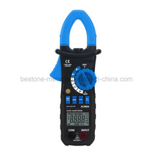 Auto Range Digital AC/DC Current Hz, Trms Clamp Meter Tester (ACM04) pictures & photos