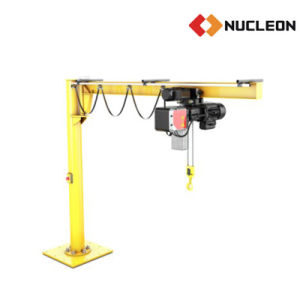 China Leading Manufacturer Nucleon Pillar Slewing Jib Crane 0.5 T pictures & photos