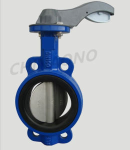 Sanitary Pressure Wafer Flange Butterfly Valve pictures & photos