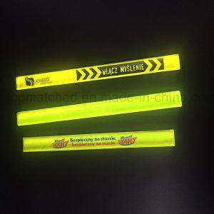 Reflective Armband Bracelet Reflective Slap Band for Promotion Gift pictures & photos