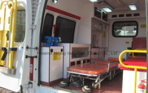 Intensive Care 3seats Ambulance with Gasoline Engine pictures & photos