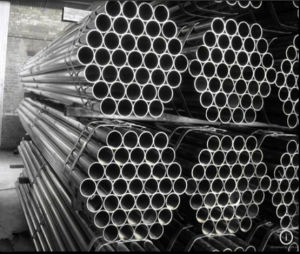 Construction Material Galvanized Round Steel Pipe/48.3mm Gi Scaffolding Tube pictures & photos