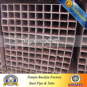 ASTM Steel Profile Ms Square Tube Galvanized Square Steel for Building pictures & photos
