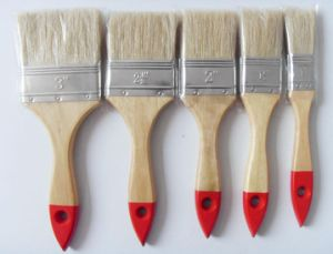 Wooden Handle 640 Paint Brush with Bristle Material pictures & photos