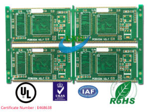 10-Layer Enig Printed Circuit Board PCB for MP4 Player
