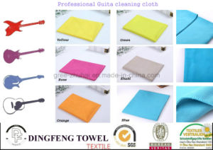 Professional Microfiber Guilta cleaning Cloth Df-2846 pictures & photos