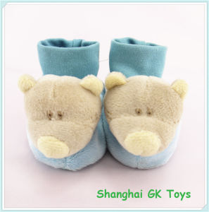 Plush Toy Teddy Bear Infant Newborn Baby Shoes pictures & photos
