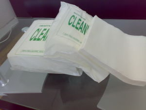 Non-Woven Cleaning Wipers