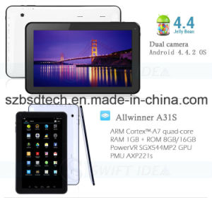 10 Inch Quadcore Allwinner A31s IPS Capacitive Touch Screen Tablet PC