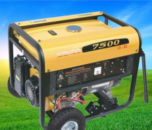 CE 6kw Electric Start Gasoline/ Petrol /Power Generator (WH7500/E) pictures & photos