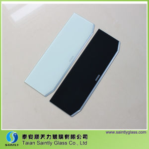5mm Special Shape Beveled Tempered Glass for Range Hood pictures & photos