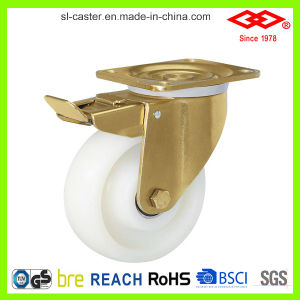 White Nylon Heavy Duty Castors (P160-20F125X50) pictures & photos