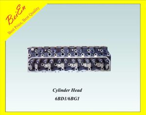 Cylinder Head for Isuzu Excavator Engine (6BD1/6BG1) pictures & photos