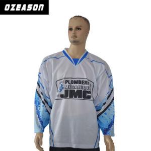 Design Custom Professional Team Hockey Jerseys Practice Jerseys (H017) pictures & photos