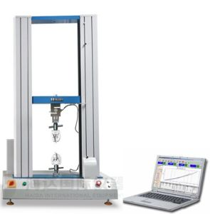 Double Column Computerized Rubber Tensile Strength Testing Machine pictures & photos