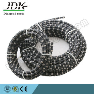 Rubber+Spring Diamond Wire Saw for Reinforced Concrete Cutting pictures & photos