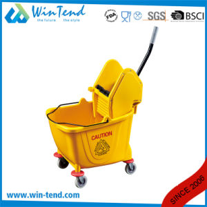 Down-Press Single Spin Bucket Mop Wringer with Large Capacity pictures & photos