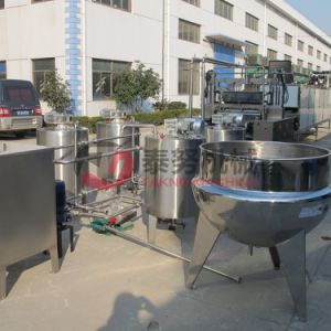 Gummy Candy Jelly Depositing Line Manufacturing Equipment pictures & photos