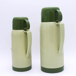 Vacuum Flask with Handle Glass Inside pictures & photos