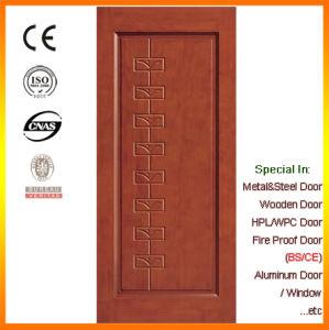 Panel Design Solid Wood Door Room Door Made in China pictures & photos