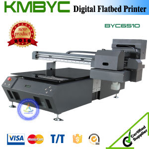 Competitive Price UV LED 65cm Double Head Flatbed Machine for Printing Cover Cell pictures & photos