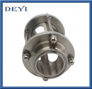 Stainless Steel DIN Hygienic Straight Threaded Male Sight Glass (DY-S020) pictures & photos