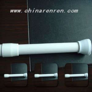 Telescopic Shower Curtain Rod (HM8201) pictures & photos