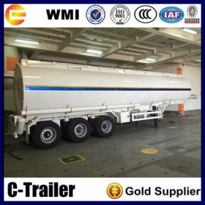 3 Axle 40m3 Diesel Tanker Oil Tank Semi Trailer pictures & photos