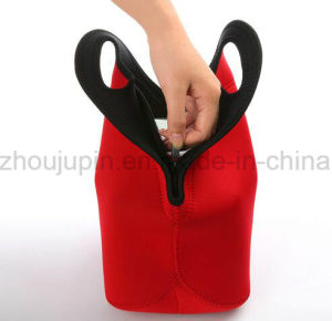 OEM Waterproof Neoprene Zipper Handle Lunch Bag pictures & photos