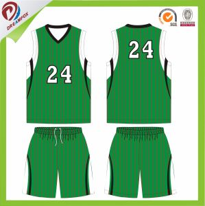 2017 Wholesales Cheap Polyester Uniform Custom Sublimation Basketball Jersey Set pictures & photos