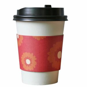 China Style Paper Cups Tea Cups with Printed Sleeve pictures & photos
