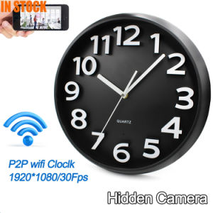 All Types Wireless Hidden HD WiFi Alarm Wall Clock Surveillance IP CCTV Security Camera 1080P Full HD System pictures & photos