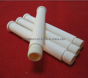 High Alumina Ceramic Tubing with End Threaded pictures & photos