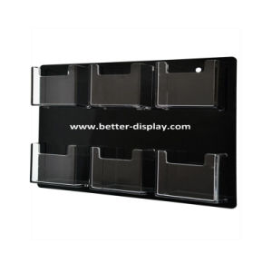 Custom Clear Plastic Acrylic Wall File Organizer pictures & photos