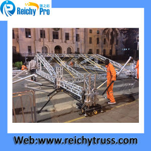 """Dual 12"""" Three Way RMS 1000W Gymnasium Line Array System Stage Truss System pictures & photos"""